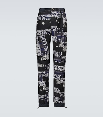 Sacai - Hank Willis Thomas Archive printed Mix pants - mytheresa.com