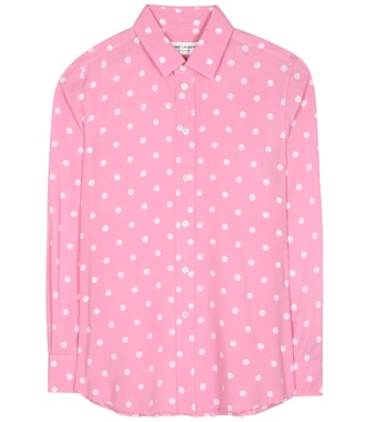 Saint Laurent - Polka-dot blouse - mytheresa.com