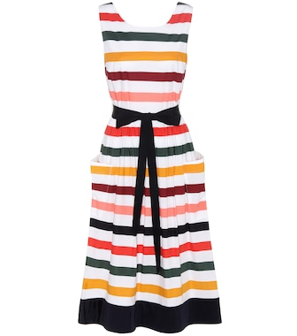 Carolina Herrera - Striped cotton dress - mytheresa.com
