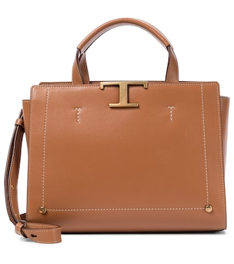 Tod's - Timeless T Mini leather tote - mytheresa.com