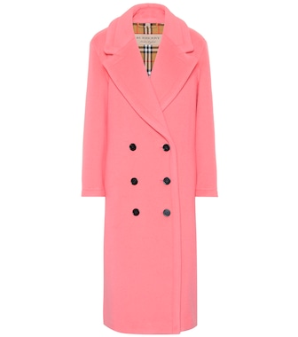 Burberry - Wool and cashmere coat - mytheresa.com