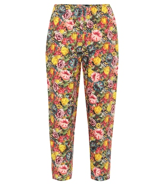 Marni - High-rise printed carrot pants - mytheresa.com