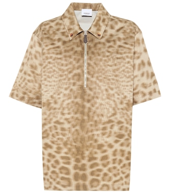 Burberry - Printed cotton shirt - mytheresa.com
