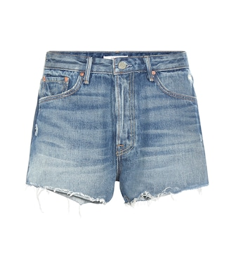 Grlfrnd - Cindy distressed denim shorts - mytheresa.com