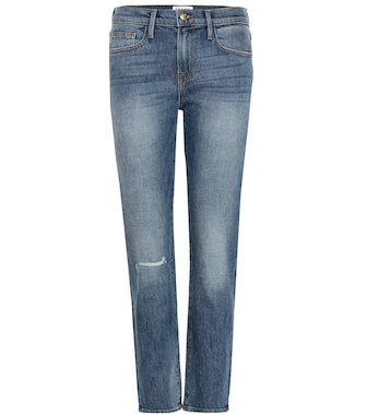Frame - Le Boy mid-rise cropped jeans - mytheresa.com