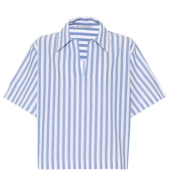 Acne Studios - Striped cotton shirt - mytheresa.com