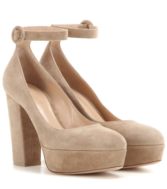 Gianvito Rossi - Sherry suede pumps - mytheresa.com