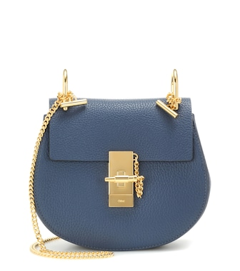 Chloé - Drew Mini leather shoulder bag - mytheresa.com