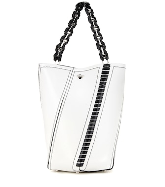 Proenza Schouler - Hex Medium leather bucket bag - mytheresa.com