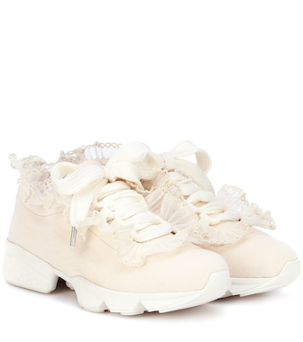 Ganni - Sneakers Harriet in tessuto - mytheresa.com