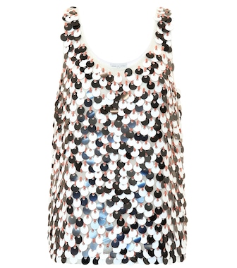 Dries Van Noten - Sequined top - mytheresa.com