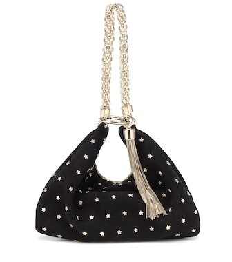 Jimmy Choo - Clutch Callie aus Veloursleder - mytheresa.com