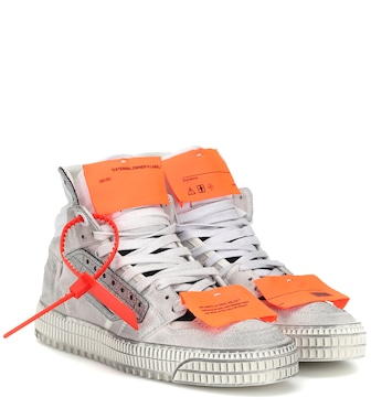 Off-White - Off Court suede sneakers - mytheresa.com