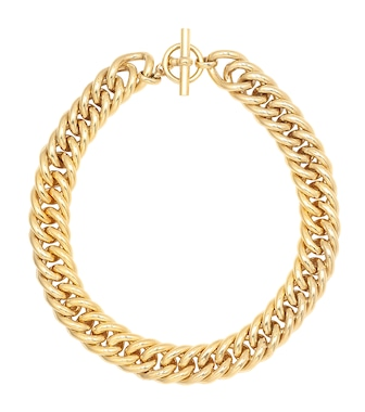 Tilly Sveaas - Large 18kt gold-plated necklace - mytheresa.com