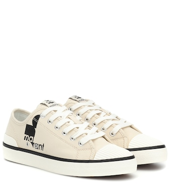 Isabel Marant - Binkoo canvas low-top sneakers - mytheresa.com