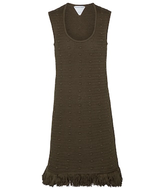 Bottega Veneta - Cotton minidress - mytheresa.com