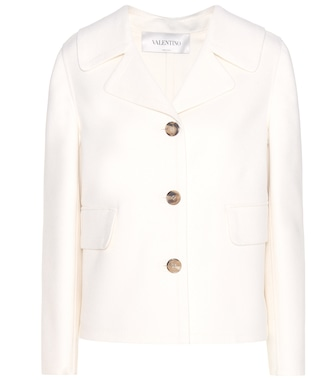Valentino - Wool and cashmere jacket - mytheresa.com