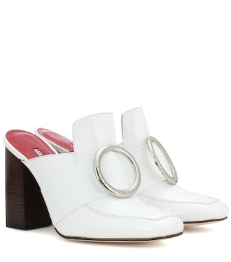 Dorateymur - Exclusive to mytheresa.com – Munise patent leather mules - mytheresa.com