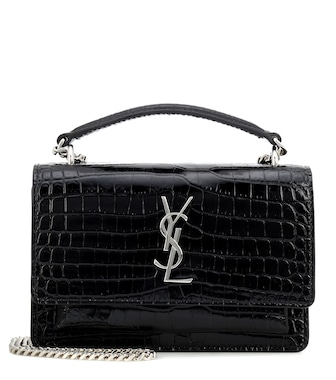 Saint Laurent - Sac à bandoulière en cuir Sunset - mytheresa.com