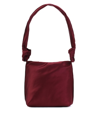 The Row - Small Wander satin shoulder bag - mytheresa.com