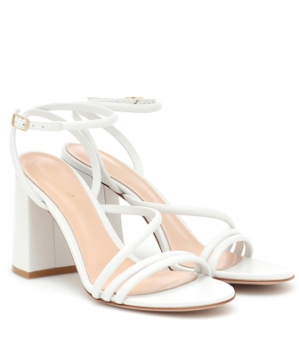 Gianvito Rossi - Bekah 85 leather sandals - mytheresa.com