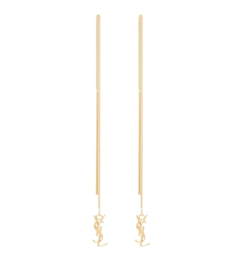Saint Laurent - Opyum chain earrings - mytheresa.com