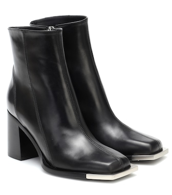 Peter Do - Leather ankle boots - mytheresa.com