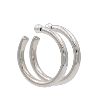 Sophie Buhai - Everyday Medium sterling silver hoop earrings - mytheresa.com