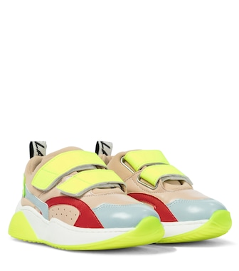 Stella McCartney Kids - Faux leather sneakers - mytheresa.com