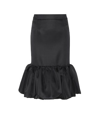 Prada - Wool and silk skirt - mytheresa.com