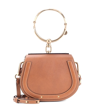 Chloé - Small Nile leather bracelet bag - mytheresa.com