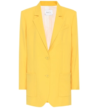Racil - Wool single-breasted blazer - mytheresa.com