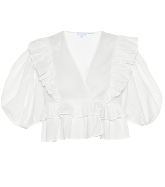 RHODE - Elodie cotton top - mytheresa.com