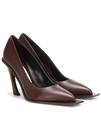 Acne Studios - Leather pumps - mytheresa.com