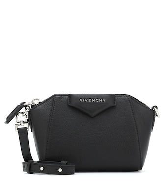 Givenchy - Antigona Nano leather crossbody bag - mytheresa.com