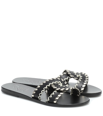 Ancient Greek Sandals - Desmos Stitch leather sandals - mytheresa.com