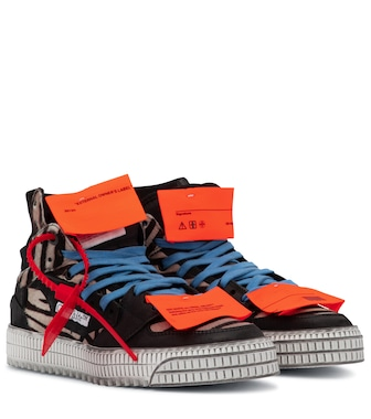 Off-White - OFF-COURT 3.0 calf hair sneakers - mytheresa.com