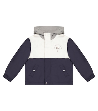 Brunello Cucinelli Kids - Hooded rain jacket - mytheresa.com