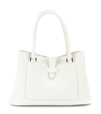 Loro Piana - Bellevue textured-leather tote  - mytheresa.com