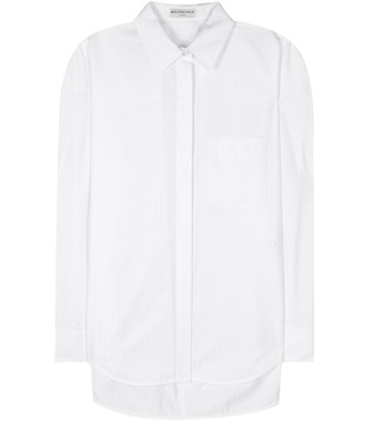 Balenciaga - Striped cotton shirt - mytheresa.com