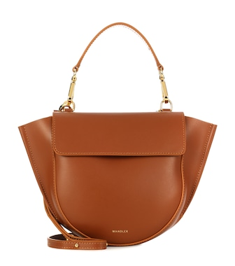 Wandler - Hortensia Mini leather shoulder bag - mytheresa.com
