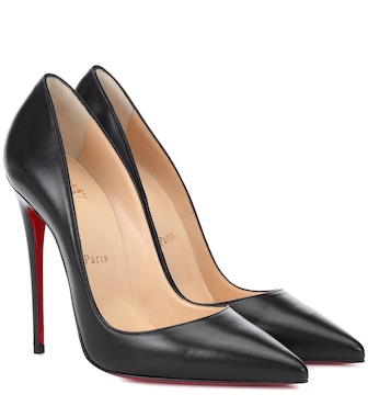 Christian Louboutin - So Kate 120 leather pumps - mytheresa.com