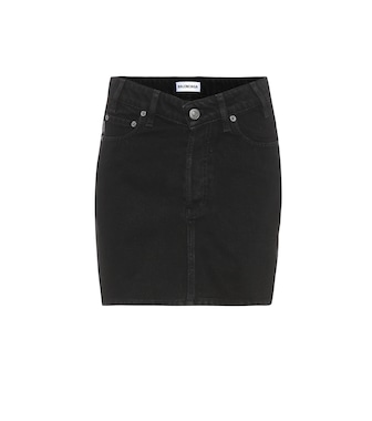 Balenciaga - High-rise denim skirt - mytheresa.com