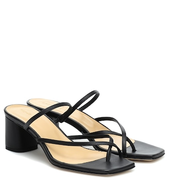 Aeydē - Larissa leather sandals - mytheresa.com