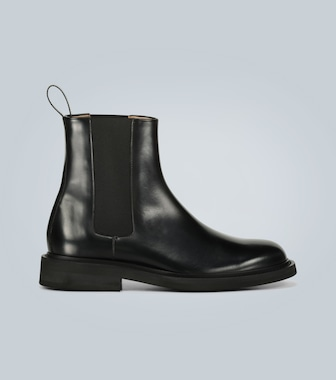 Bottega Veneta - Leather Chelsea boots - mytheresa.com