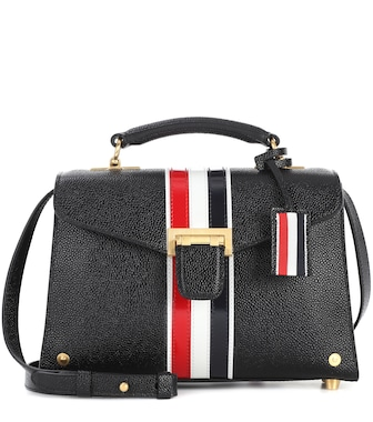 Thom Browne - Mrs Thom leather shoulder bag - mytheresa.com