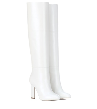 Victoria Beckham - Leather boots - mytheresa.com
