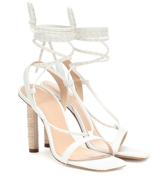 Jacquemus - Bergamo leather sandals - mytheresa.com