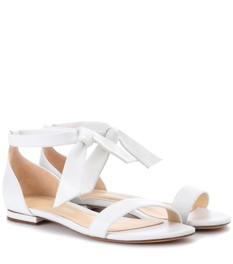 Alexandre Birman - Clarita leather sandals - mytheresa.com