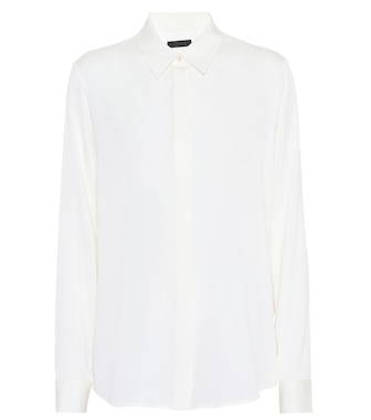The Row - Petah silk shirt - mytheresa.com